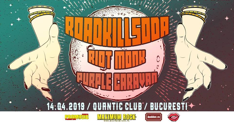 /Roadkillsoda, Riot Monk, Purple Caravan / Club Quantic