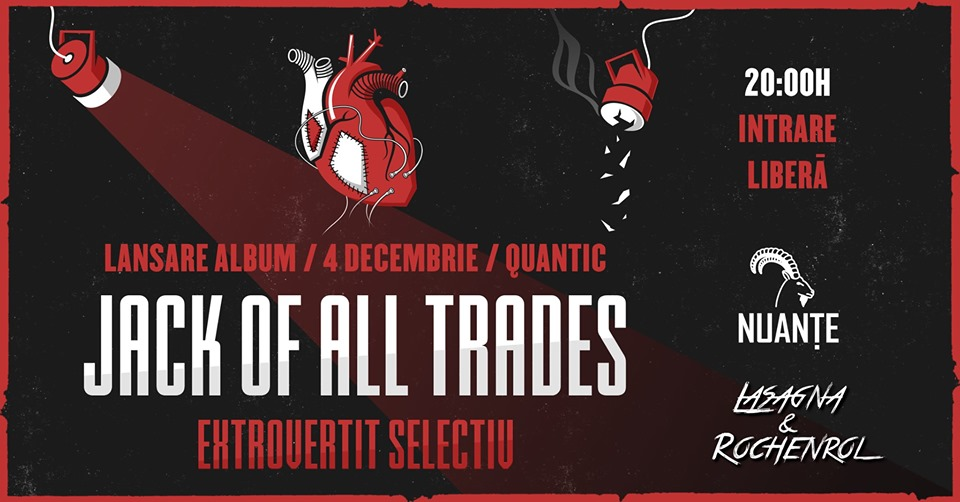 /ack of all Trades - Lansare Album